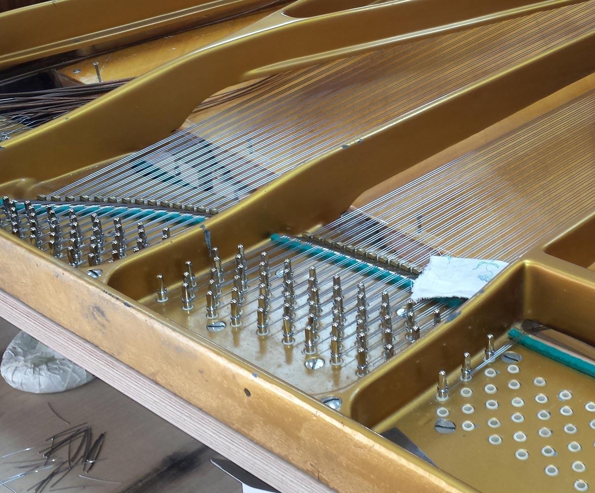 Ремонт рояля